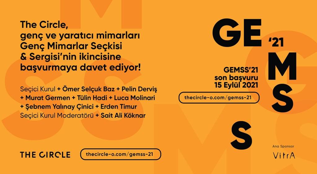 GEMSS 21 Güncellenen Poster