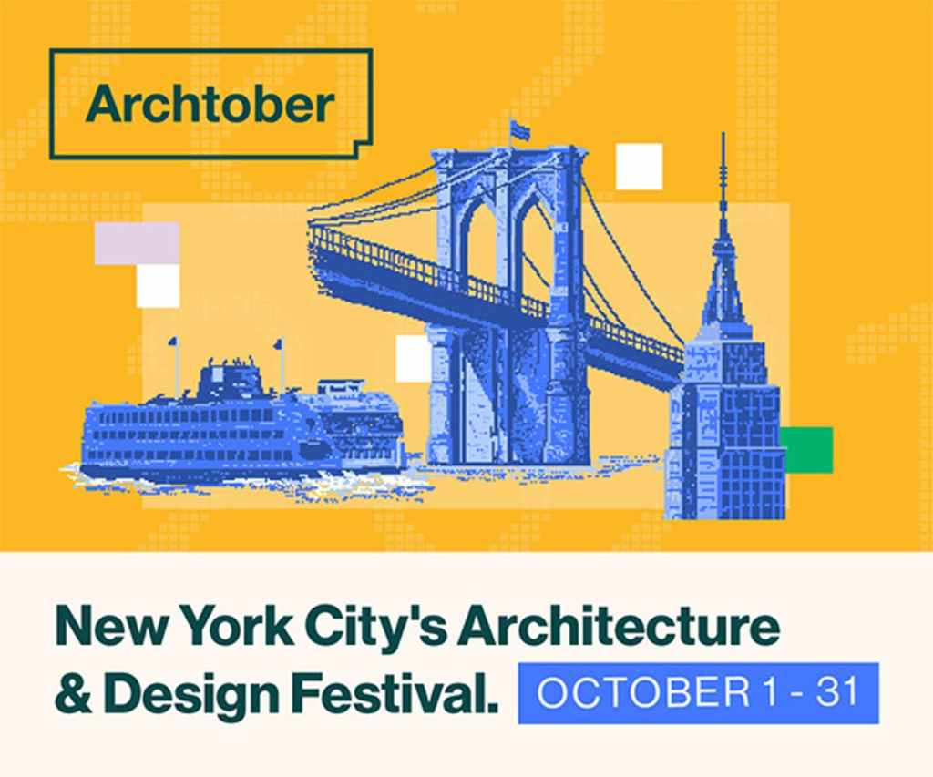 Archtober Festival Posteri