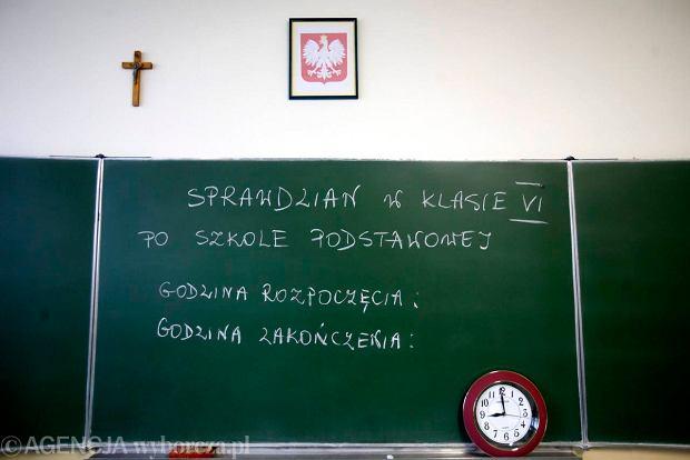 Krzyż w klasie