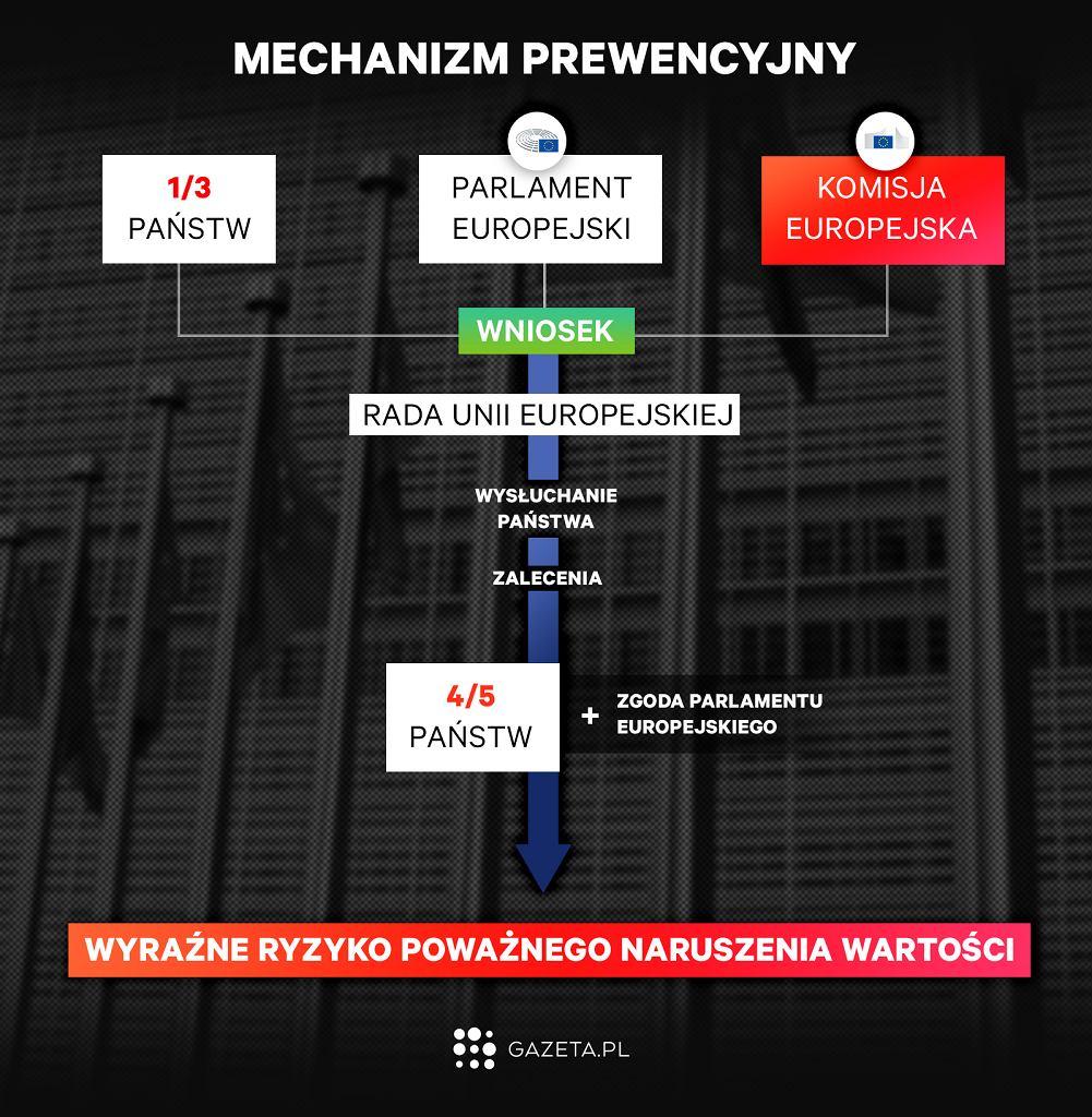 Artykuł 7. Mechanizm prewencyjny
