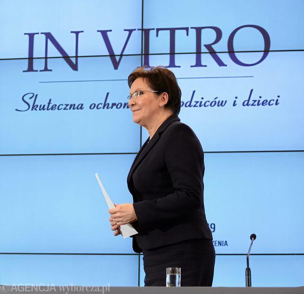 Premier Kopacz na konferencji dotyczącej ustawy o in vitro