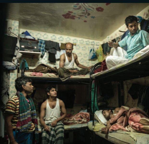 Robotnicy w Zjednoczonych Emiratach Arabskich
