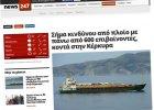 Tysiąc osób uratowano ze statku dryfującego w pobliżu Korfu. Załoga uciekła