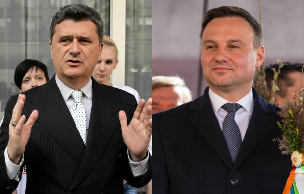 Janusz Palikot, Andrzej Duda