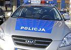 Radiowóz przejechał mężczyznę. 27-latek leżał na drodze