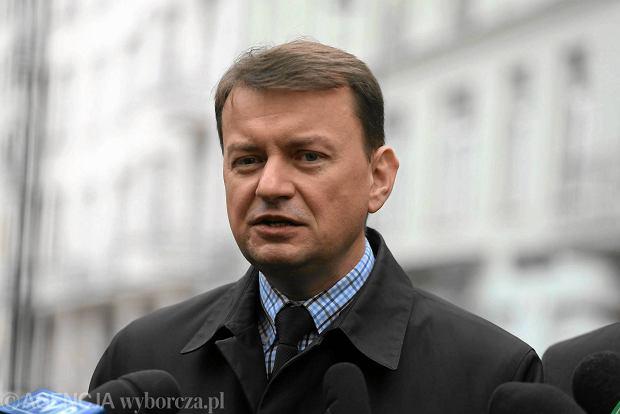 Przewodniczący klubu parlamentarnego PiS Mariusz Błaszczak