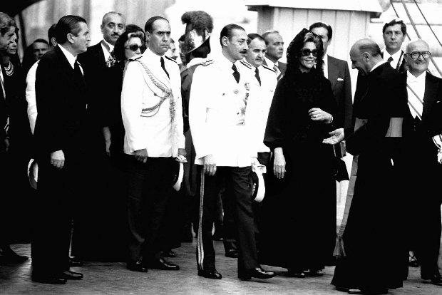 Prezydent Argentyny Jorge Videla z żoną na pogrzebie papieża Jana Pawła I w Watykanie, 3 października 1978 r.