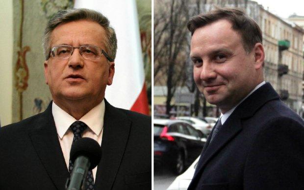 Bronisław Komorowski i Andrzej Duda - starcie tytanów?