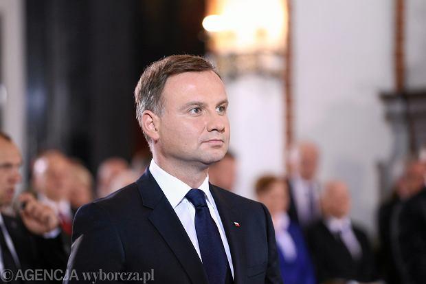 Zaprzysiężenie prezydenta Andrzeja Dudy. Msza w Archikatedrze św. Jana Chrzciciela