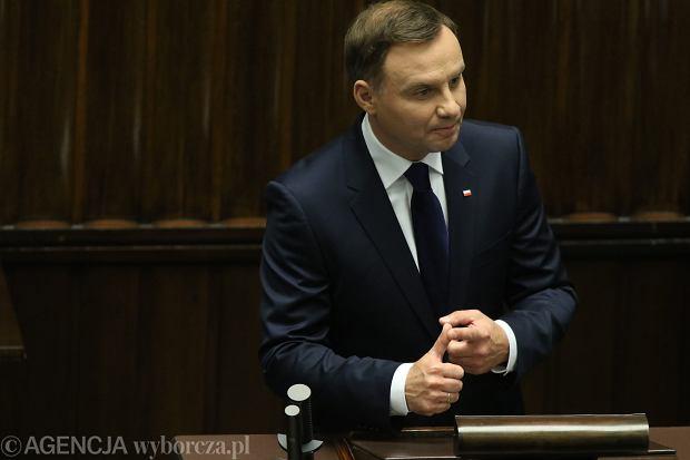 Zaprzysiężenie Prezydenta RP Andrzeja Dudy