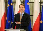 Sikorski: Donos na Polskę do PE - skandaliczny. Kaczyński chce rozhuśtać nastroje społeczne