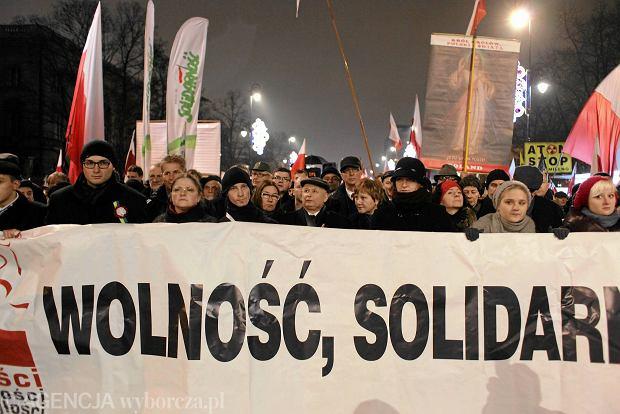 ''Marsz Wolności i Niepodległości'' w 2013 roku
