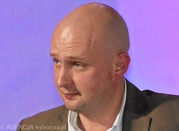 Dziennikarz Michał Majewski