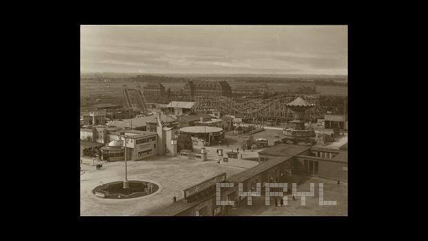 Wesołe Miasteczko na terenie Powszechnej Wystawy Krajowej, 1929 r.