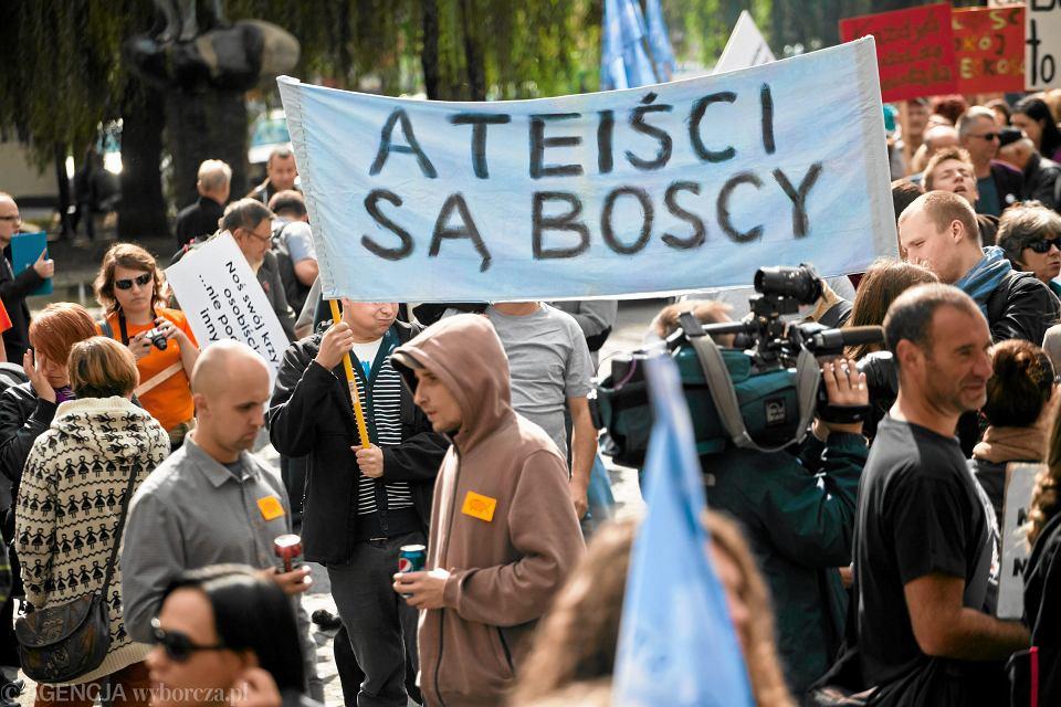 Marsz Ateistów w Krakowie