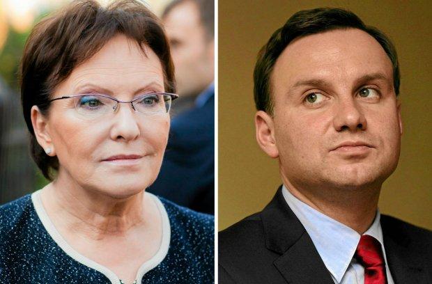 Ewa Kopacz, Andrzej Duda