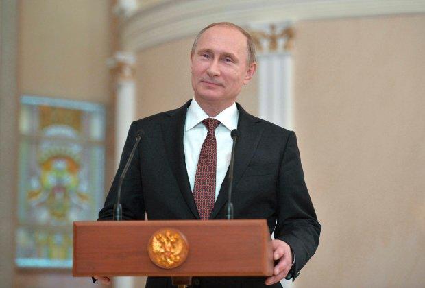 Władimir Putin w Mińsku