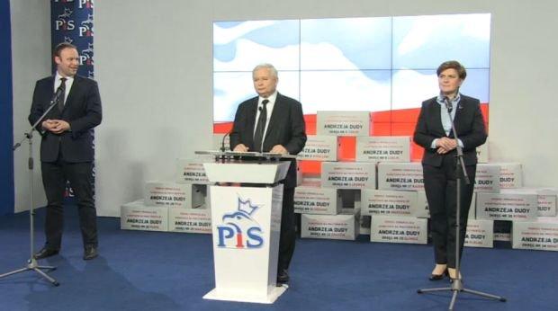 Konferencja prasowa PiS