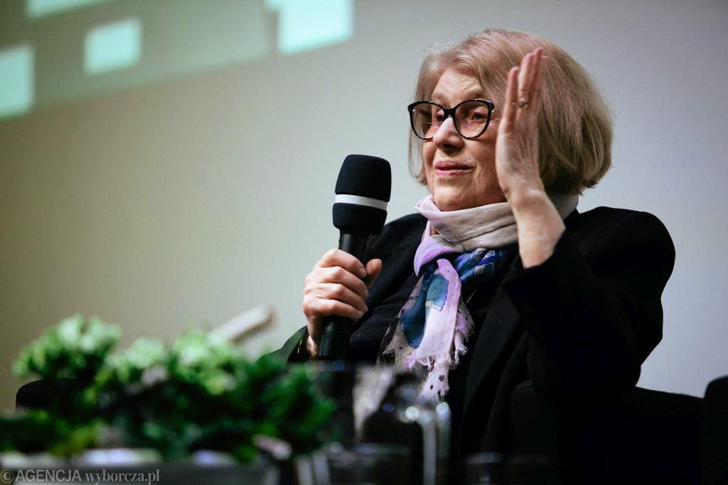 Prof. Krystyna Zachwatowicz (fot. Renata Dąbrowska/AG)