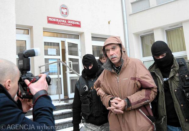 Jerzy D. przed częstochowską prokuraturą