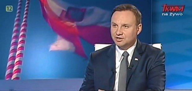 Jedna z przedwyborczych wizyt Andrzeja Dudy w programie
