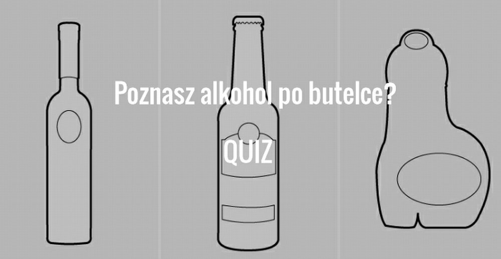 Rozpoznasz, który to alkohol po obrysie jego butelki? [QUIZ]