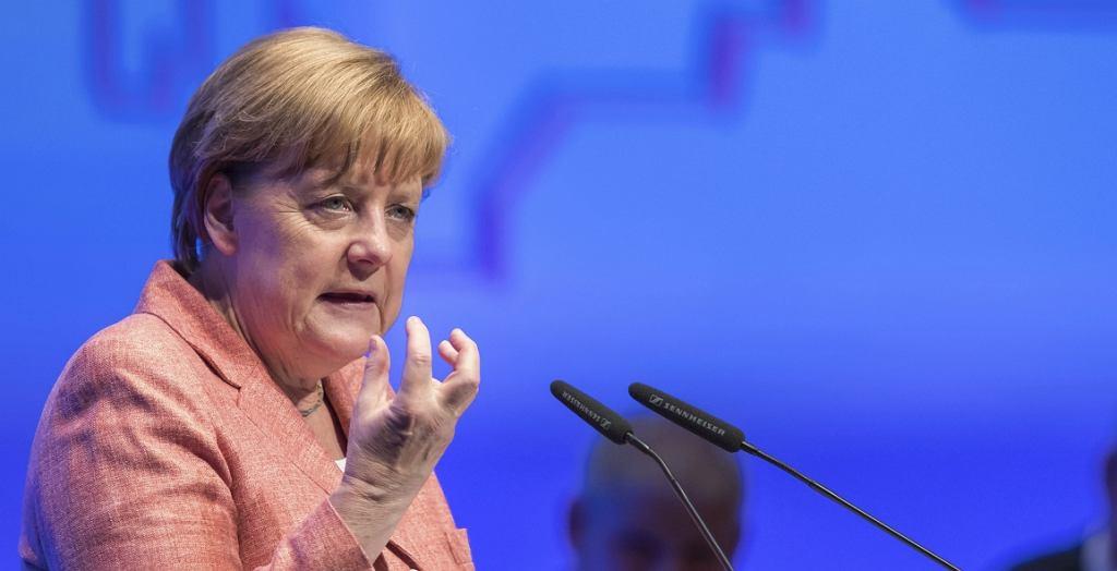 Kanclerz Niemiec Angela Merkel (fot. Daniel Karmann/AP)