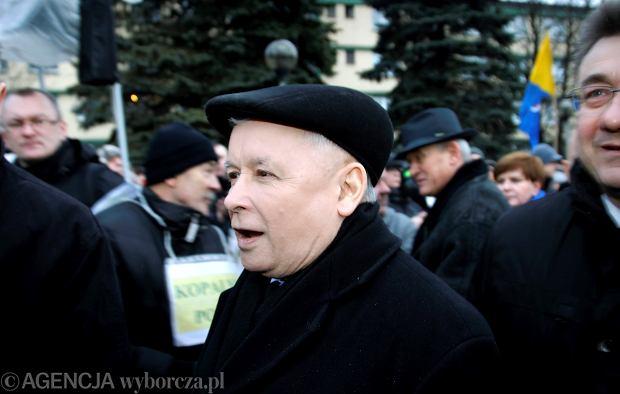Jarosław Kaczyński odwiedził kopalnię Pokój