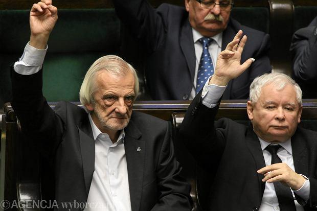 Robert Terlecki i Jarosław Kaczyński