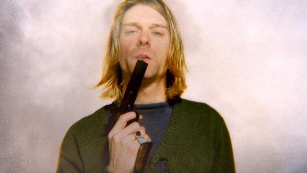 Kurt Cobain, kadr z
