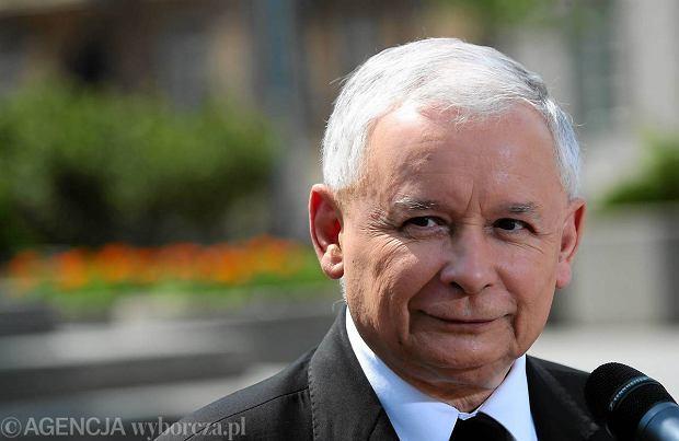 Jarosław Kaczyński. PiS wygrywa