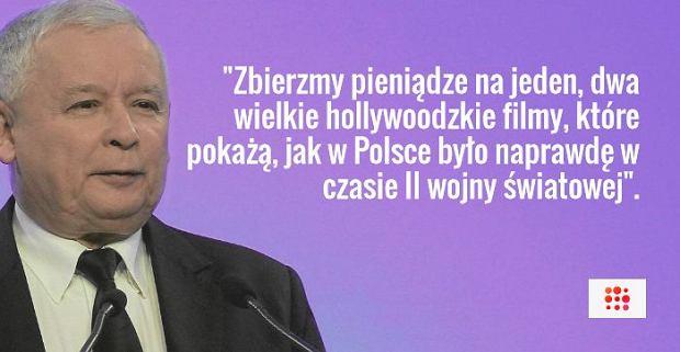 Jarosław Kaczyński na spotkaniu w Legionowie