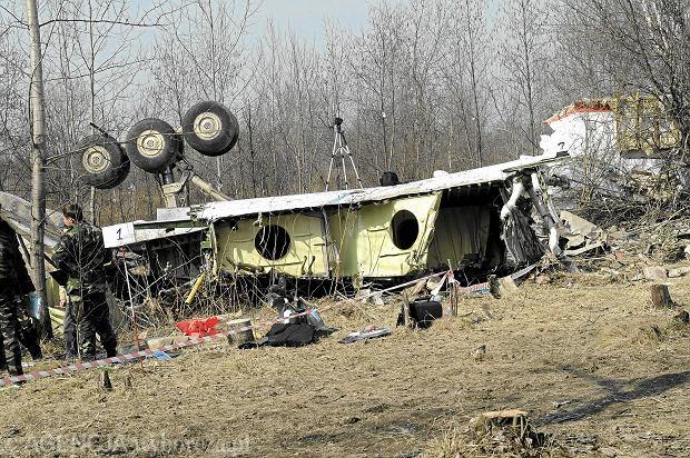 Smoleńsk, miejsce katastrofy samolotu tu-154, 11 kwietnia 2010