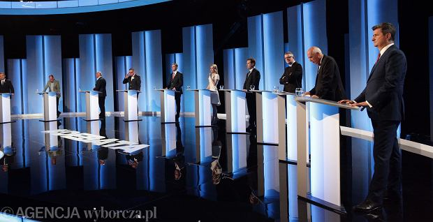 Debata prezydencka w TVP 1