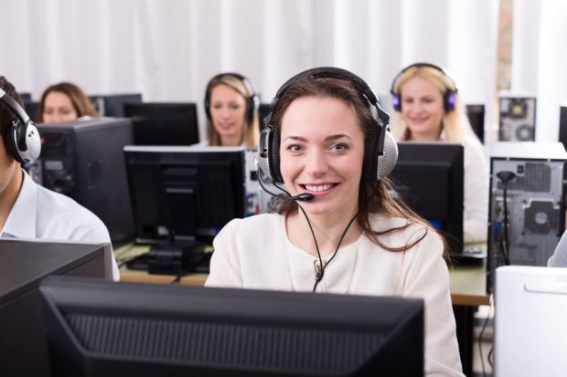 Pracownicy call center