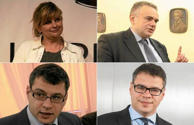 Anita Gargas, Tomasz Sakiewicz, Jacek i Michał Karnowscy
