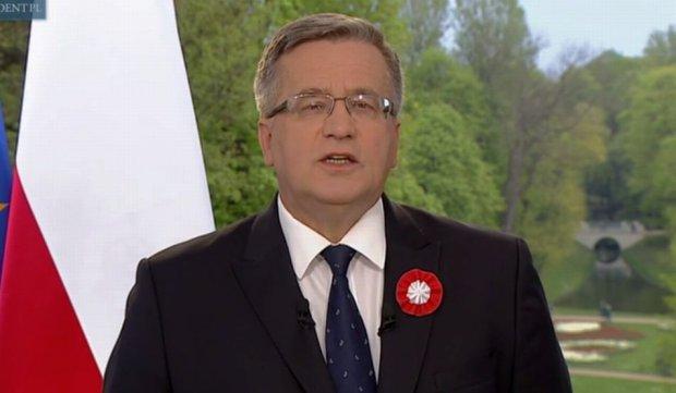 Orędzie prezydenta Bronisława Komorowskiego