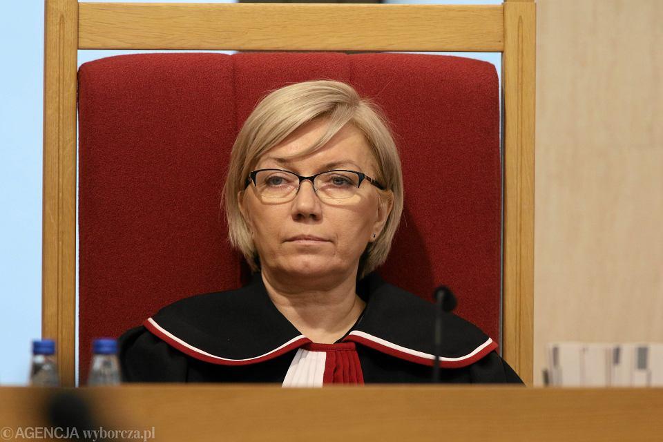 Prezes Trybunału Konstytucyjnego sędzia Julia Przyłębska