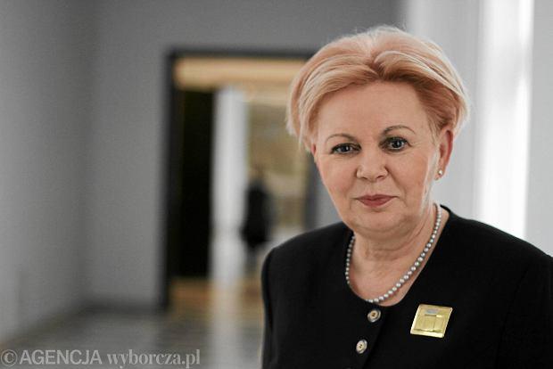 Posłanka PO Krystyna Skowrońska zarządza Bankiem Spółdzielczym w Przecławiu