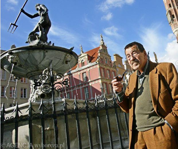 W poniedziałek rano zmarł Günter Grass, jeden z najwybitniejszych niemieckich pisarzy XX wieku, laureat Literackiej Nagrody Nobla. Na zdjęciu: Günter Grass w Gdańsku, 2007 rok
