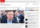 """""""Economist"""": Polska bogata i bezpieczna. Pod rządami Dudy to dziedzictwo jest zagrożone"""
