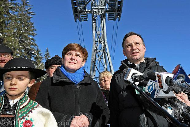 Beta Szydło w czasie kampanii Andrzeja Dudy