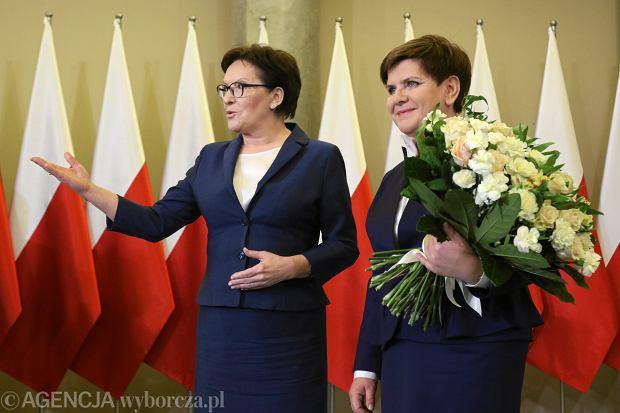 Beata Szydło spotkała się dzisiaj z Ewą Kopacz, odebrała gratulacje. Zapowiedziała także expose