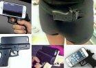 Etui na telefon w kształcie broni coraz popularniejsze w USA. Policja apeluje: Nie używajcie ich