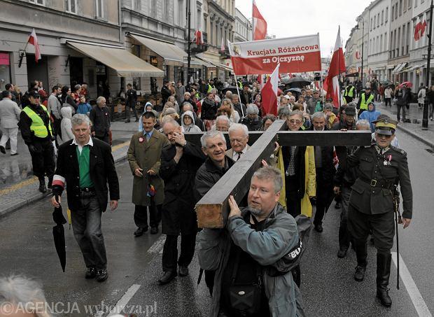Krucjata Różańcowa w intencji zbawienia Ojczyzny zorganizowała swoje obchody Święta Konstytucji 3 Maja. Warszawa, 3 maja 2013 r.
