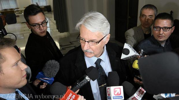 Witold Waszczykowski, nowy szef MSZ