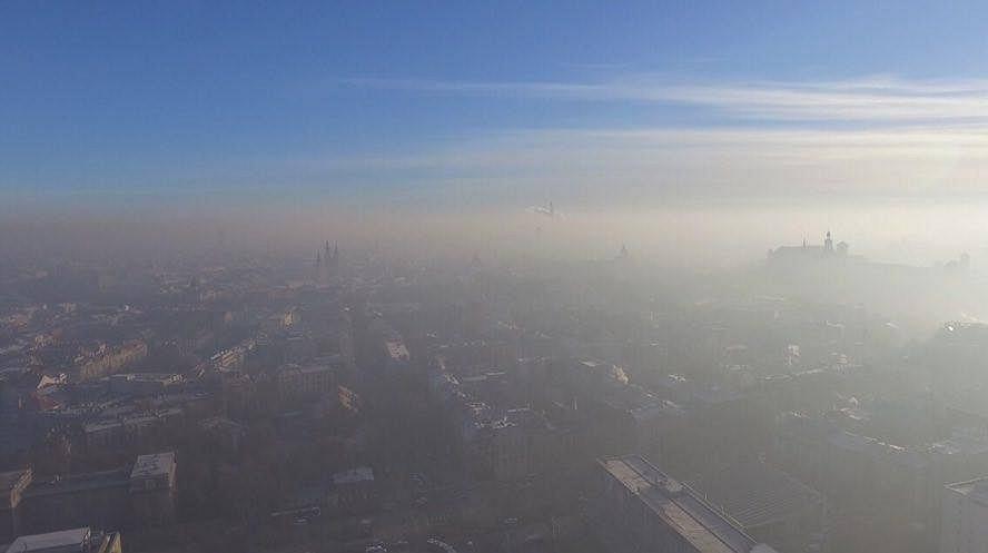 Znalezione obrazy dla zapytania zdjęcia smog