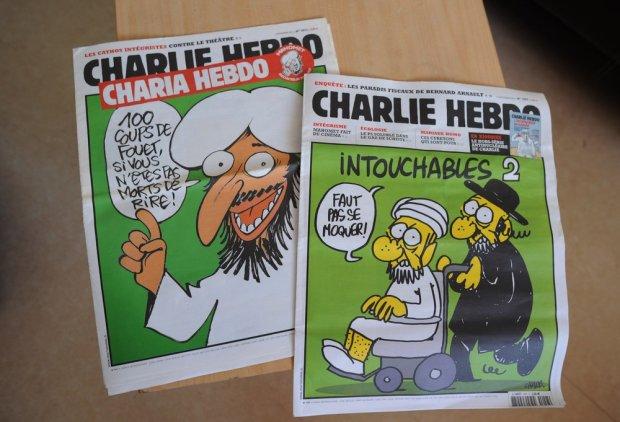 Okładki satyrycznej gazety