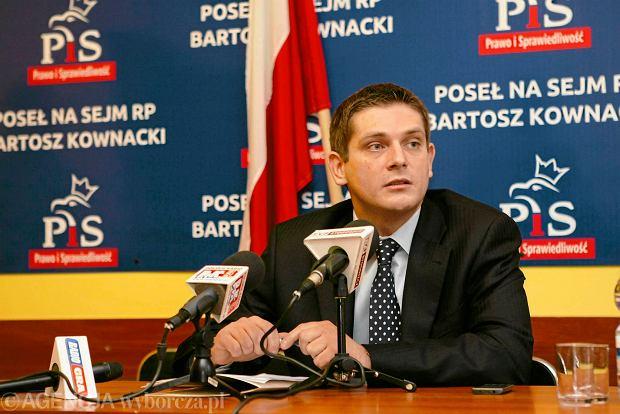 Bartosz Kownacki, poseł PiS