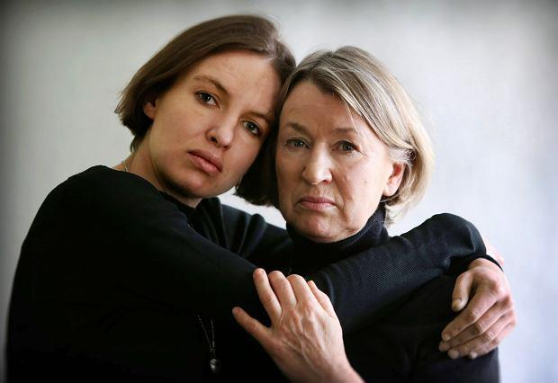 Maja Buczek z mamą Ludwiką